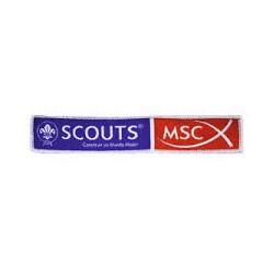 Insignia Tejida Oficial de MSC