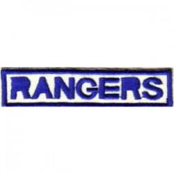Insignia Tejida Rangers MSC